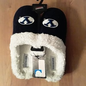 BYU cougars knitted slippers